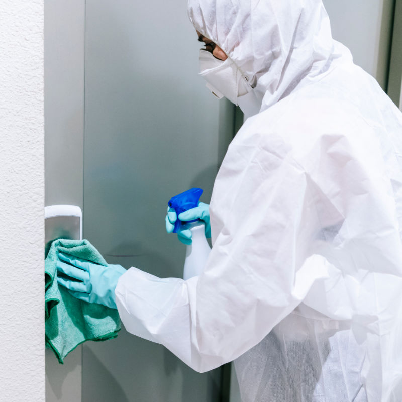 Coronavirus COVID-19 Cleaning & Decontamination Service | 360 Commercial Cleaning Ltd