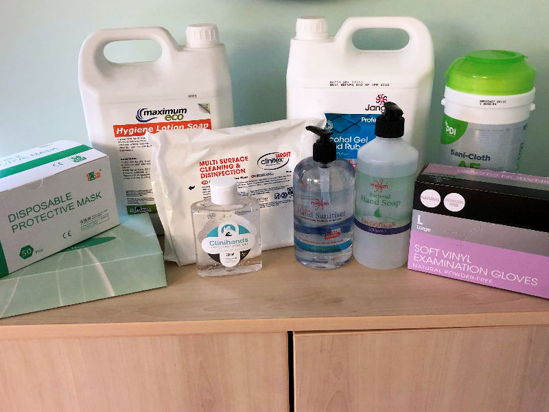 Coronavirus COVID 19 Cleaning Supplies | 360 Commercial Cleaners
