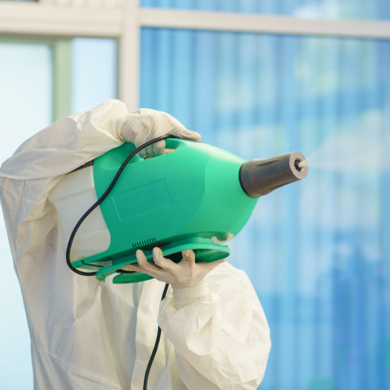 Coronavirus COVID 19 Fogging Disinfectant Service | 360 Commercial Cleaners